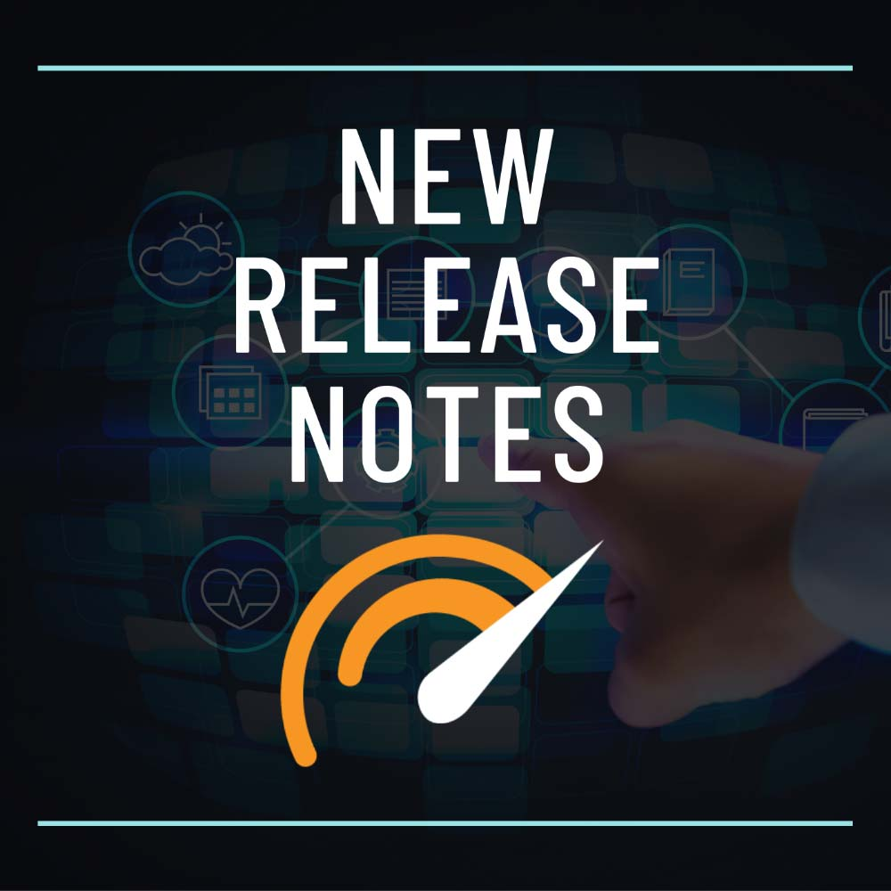 New release notes