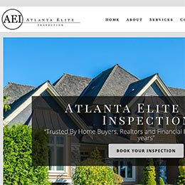 Atlanta Elite Inspections Sample Website