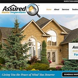 Assured Home Inspections Sample Website