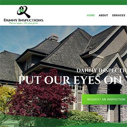 Danny Inspections Sample Website