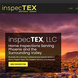 inspecTEX Sample Website