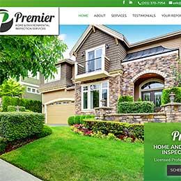 Premier Home Inspections Sample Website