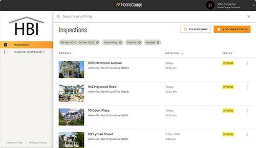 Inspection Report List